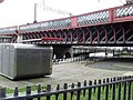 Underside of railway bridge over Clyde - geograph.org.uk - 665388.jpg