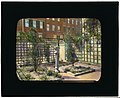 Unidentified townhouse garden, probably in New York, New York. LOC 7536012148.jpg