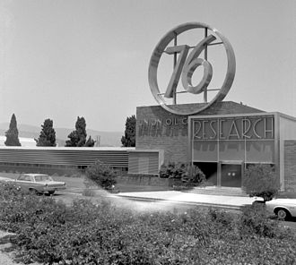 Unocal Corporation - Research facility in Brea, California, circa 1965.