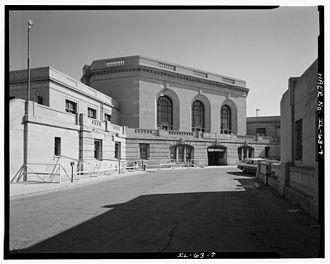 Jarvis Hunt - Image: Union Station Joliet Illinois