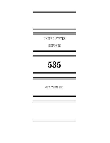 File:United States Reports, Volume 535.djvu