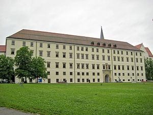 University of Passau - The Nikolakloster building