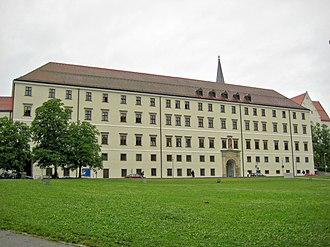 University of Passau - The Nikolakloster building