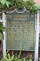 University of Michigan historical marker Ann Arbor Michigan.JPG