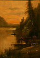 Unknown german painter - Landscape with house.JPG