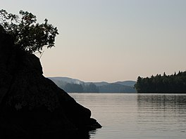 Upper Saranac Lake, looking south near Eagle Island.jpg