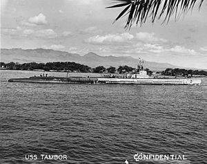 Tambor-class submarine - USS Tambor