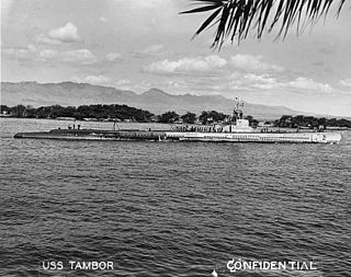 <i>Tambor</i>-class submarine US Navy submarine class of World War II