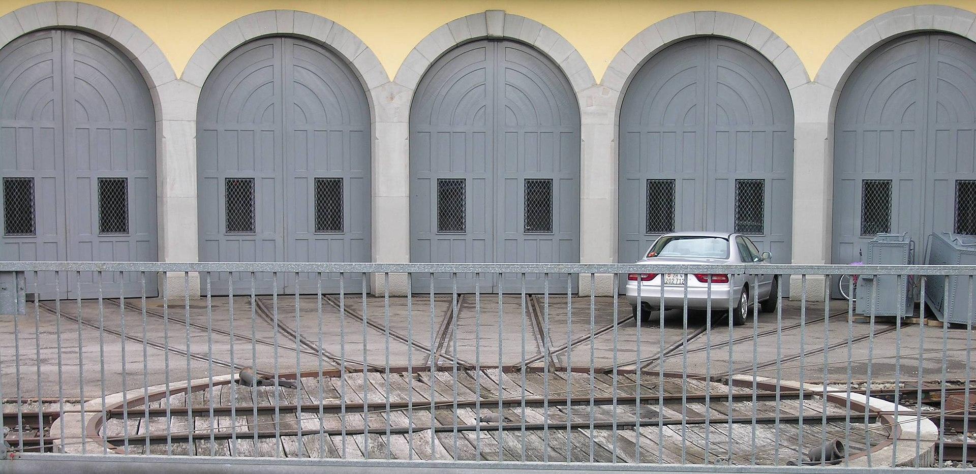 Obrotnica kolejowa wikipedia wolna encyklopedia - Porte de garage wikipedia ...
