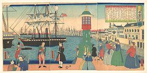 Utagawa Yoshitora - Image: Utagawa Yoshitora, Paris, France, 1862