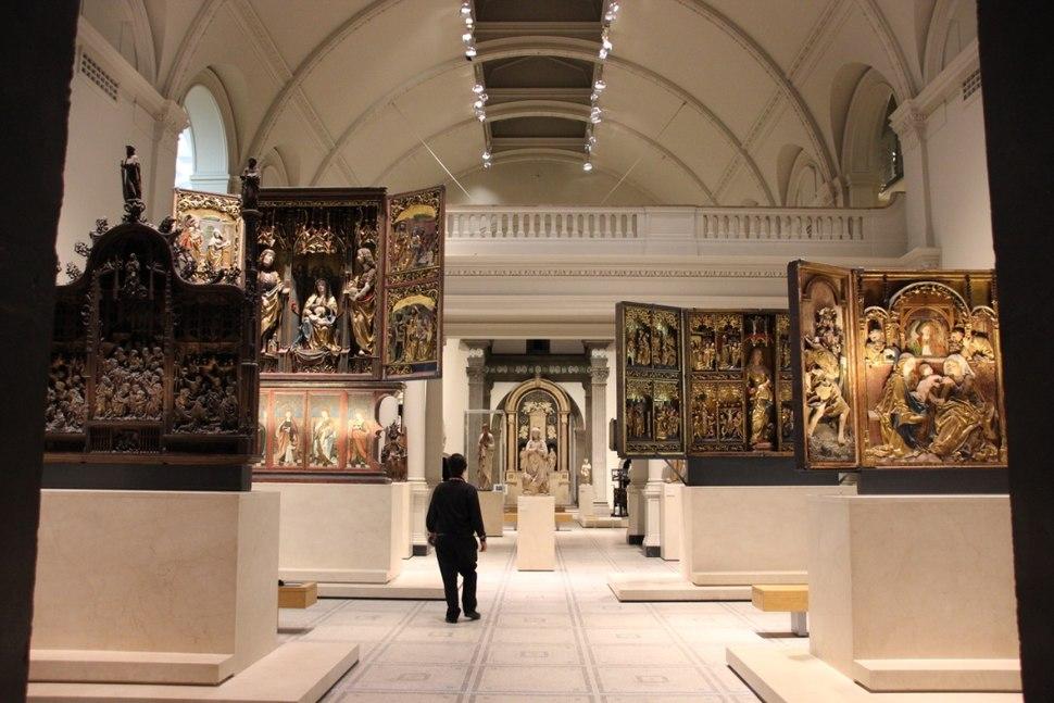 V&A Altar Raum