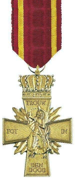 Dutch Cross of Resistance - Image: VERZETSKRUIS 1945