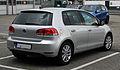 VW Golf 1.6 TDI Style (VI) – Heckansicht, 25. Februar 2012, Ratingen.jpg