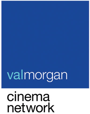 Hoyts - Current logo of Val Morgan.