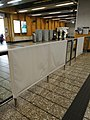 Vandalized glass barriers and ticket gates in Kwai Hing station.jpg