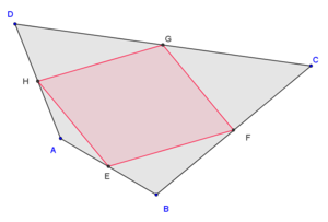 Quadrilateral - Image: Varignon theorem convex