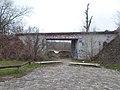 Vasúti híd, az egykori Danubius Hajógyár része volt, 2018 Angyalföld.jpg
