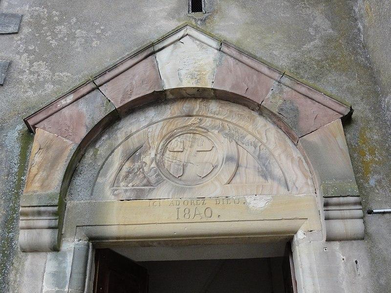 Vathiménil (M-et-M) église Saint-Jean-Baptiste