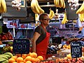Vendor in Boqueria Food Market - Rambla - Barcelona -- Spain (14395945353).jpg