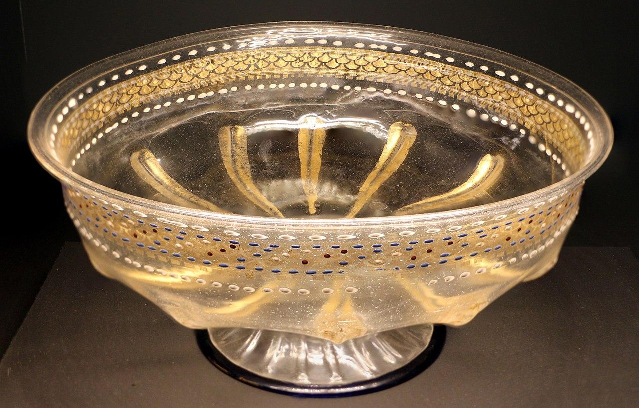 File venezia grande bacile in vetro di murano con for Tartarughiera grande vetro