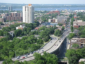 Victoria Avenue (Hamilton, Ontario) - Victoria Avenue, Mountain access road