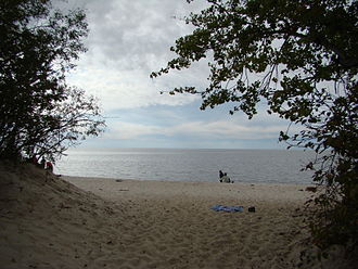 Monarchy in Manitoba - Image: Victoria Beach in Lake Winnipeg Manitoba Canada (6)