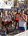 Vienna 2013-04-14 Vienna City Marathon - 20 Valerijs Zolnerovics, LTU, 51 Daniele Caimmi, ITA, 19 Vince Kiplagat-Mitei, KEN, 18 Oleg Marusin, RUS.jpg