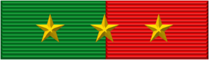 Fatherland Defense Order - Image: Vietnam Fatherland Defense Order ribbon
