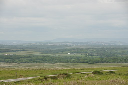 View north from Cefn Bryn (5384)