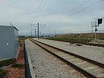 View north northwest from 5600 W Old Bingham Hwy station, Apr 16.jpg