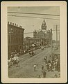 View of charity circus parade from Trust building looking west toward the court house, Dallas, Tex. (13889667126).jpg