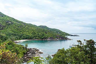 Mahé, Seychelles - Image: View point Anse Major Mahe (27842343749)
