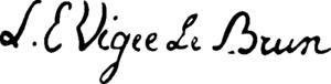 Lebrun's signature
