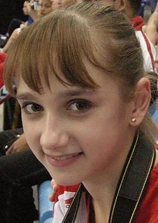 Viktoria Komova Russian artistic gymnast