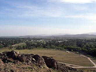 Sierra de La Ventana (town) - Image: Villa Ventana from the Sierra de la Ventana
