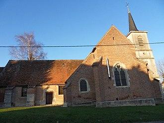 Villers-les-Pots - The church in Villers-les-Pots