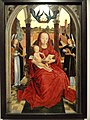 Virgin and Child Enthroned, Hans Memling, c. 1465-1470 - Nelson-Atkins Museum of Art - DSC08475.JPG