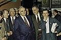 Visite de Mr Curien au SIA 1991-13-cliche Jean Weber.jpg