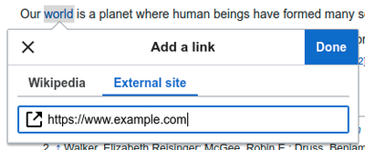 VisualEditor-link tool-external link.png