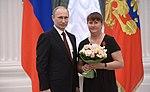 Vladimir Putin and Yelena Välbe (2014-03-24).jpg