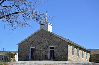 Volga, Indiana - Hopewell Baptist Church