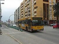 Volvo de Metrobus en L.182.jpg