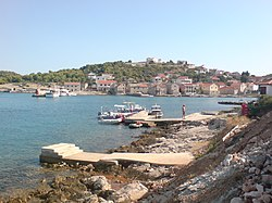 Vrgada Island - view of bay and church.jpg