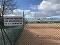 Vue des terrains de sports de Tramoyes (janvier 2020).jpg