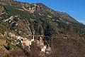 Vue du village de Toudon depuis le sentier vers la cime des Collettes.JPG