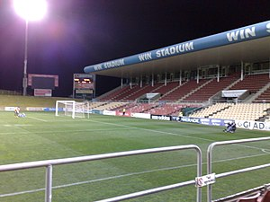 Wollongong Showground - Image: WIN Stadium 1