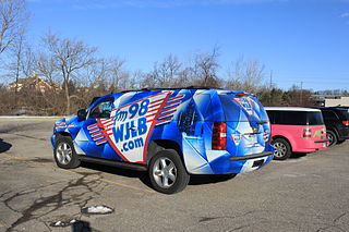 WJLB Urban contemporary radio station in Detroit