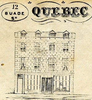 Holt Renfrew - Image: WS Henderson & Co receipt 12 Buade 1847