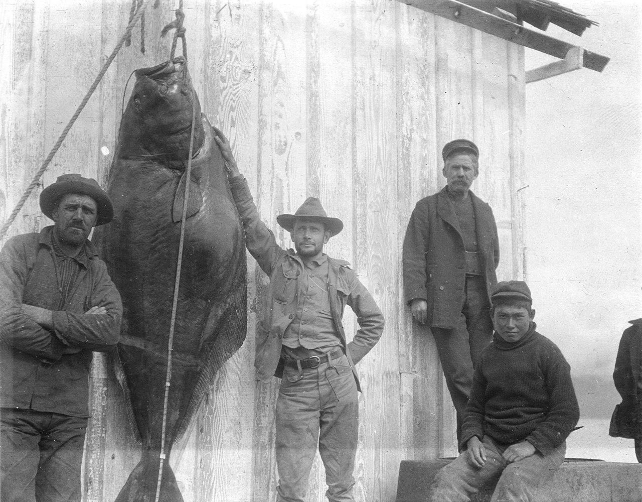 Flétan pêché en Alaska