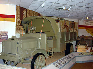 "Liberty truck - A ""Liberty truck"", the first standardized US army truck"